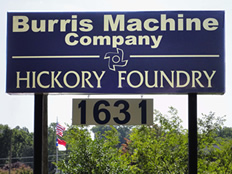 Burris Machine Company - Hickory Foundry